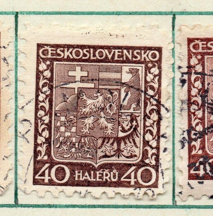 Czechoslovakia 1929 Early Issue Fine Used 40h. 230270