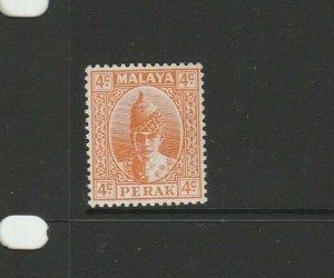 Perak 1938/41 4c Orange MM SG 107