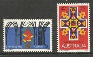 AUSTRALIA 429-430 MNH, CHRISTMAS