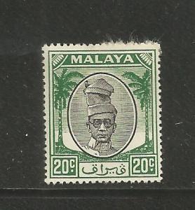 MALAYA, PERAK, 113,  HR, PROFILE GREEN