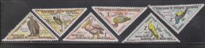 MAURITANIA Scott # J26-31 Mint Hinged - Birds On Postage Dues
