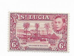 St. Lucia #119a MH - Stamp - CAT VALUE $2.00