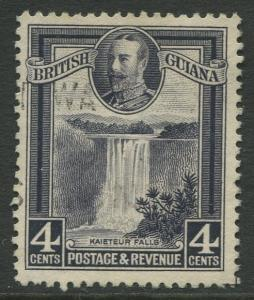 STAMP STATION PERTH British Guiana #213 - KGV Definitive Issue Used CV$4.00