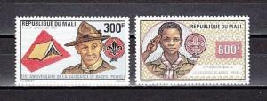 Mali, Scott cat. C462-C463. Scouting Year with Baden Powell issue.