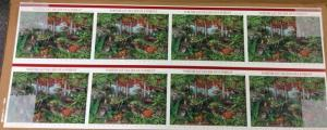 3899 N.E.Deciduous Forest, uncut press sheet of 80 37¢ stamps, 2005, $29.60 face