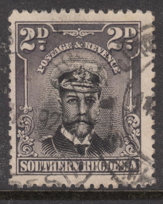 SOUTHERN RHODESIA 1924 2d George V Fine Used