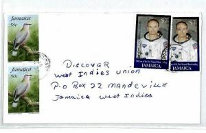 Jamaica *Old Harbour* SPACE Cover $7 ASTRONAUT  {samwells-covers} 2001 CS133