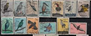 Angola SC 333-356 Used 1951 SCV$ 87.65 Set