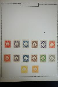 Italy Antique Revenues Stamp Collection