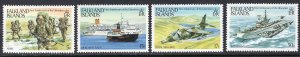 FALKLAND ISLANDS SCOTT 375-378