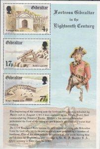 Gibraltar, Sc 455a, MNH, 1983, Fortress