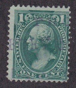 United States # RB11b Internal Revenue Proprietary 1 cent