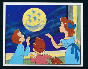 [22521] Grenada 1987 Disney Movie Peter Pan Moon Sheet MNH