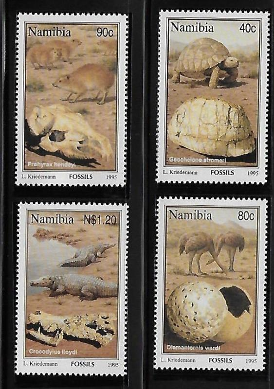 Namibia 1995 Fossils MNH A32