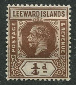 Leeward Is. - Scott 61 - KGV - 1921 - Mint -  Single - 1/4p Stamp