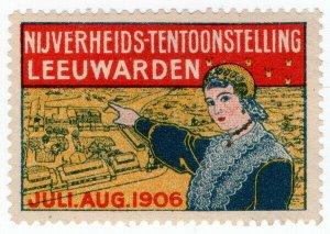 (I.B) Netherlands Cinderella : Industrial Exhibition (Leeuwarden 1906)