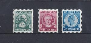 Germany (Wurttemberg), 8NB9-8NB10, Occupation Stamps Singles, **MNH**, (LL2019)