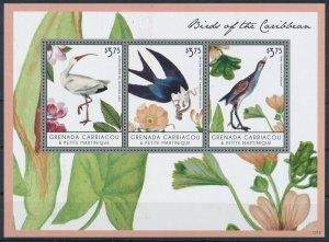 [108890] Carriacou & Petite Martinique 2013 Birds vögel Ibis Mini sheet MNH