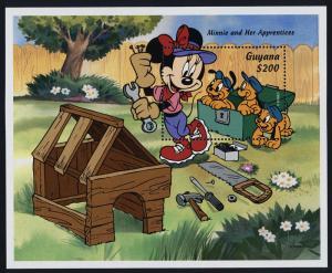 Guyana 2926 MNH Disney, Minnie & her Apprentices