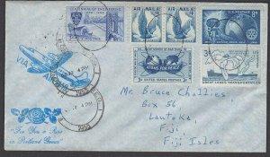 USA 1955 cover with nice franking to LAUTOKA, FIJI. + Bird Cinderella.......M113