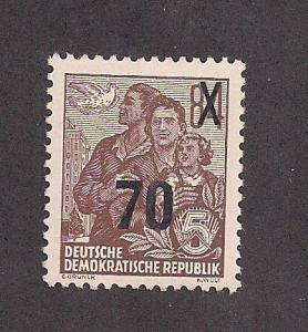 GERMANY - DDR SC# 223 F-VF LH 1954