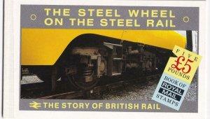 GB # BK 150 THE STORY OF BRITISH RAIL BOOKLET PO FRESH CAT VALUE $50