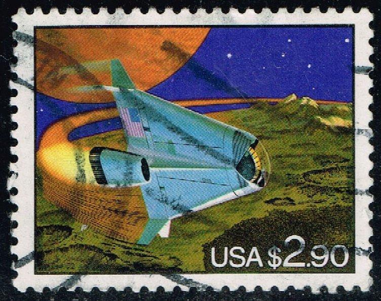 US #2543 Futuristic Space Shuttle; Used (3Stars)