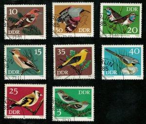 Birds, Germany DDR, (2750-T)
