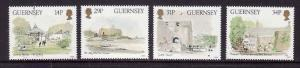 Guernsey-Sc#342-5-unused NH set-Museums-1986-