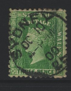 New South Wales Sc#63 Used perf 11x12