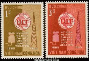 Vietnam Scott 253-254 Unused lightly hinged.