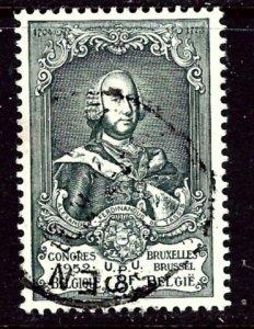 Belgium 443 Used 1952 issue    (ap3727)