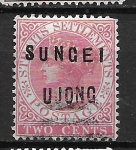 Malaya - Sungei Ujong 15 Tiger Single Used