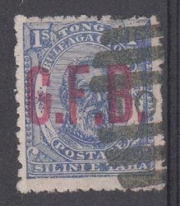 Tonga Scott O5 Used signed (Catalog Value $210.00)