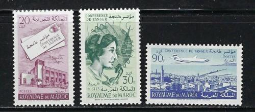 Morocco 56-57A NH 1961 Issue