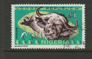 Nigeria 1965 Animal Defs, £1 FU SG 185
