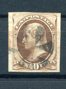 USA  Jefferson Imperf. used   - Lakeshore Philatelics