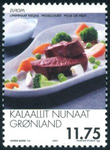 Greenland 2005 #445 MNH. Europa, gastronomy