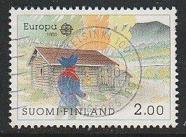 1990 Finland - Sc 817 - used VF - 1 single - Europa