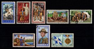 Greece 1960 50th Anniversary of Greek Boy Scout Movement, Set [Used]