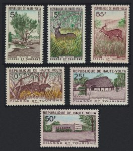 Upper Volta Lion Antelope Hunting and Tourism 6v 1962 MNH SG#99-104 CV£11.05