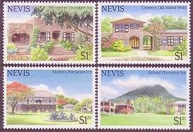 Nevis 1985 Holiday Hotels and Inn Architecture Nevis 280-283