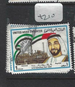 UNITED ARAB EMIRATES  (PP0206B) NATIONAL DAY, SHEIKHS 1 VALUE   VFU