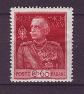 J21563 Jlstamps 1925-6 italy mlh #175a perf 13 1/2 king