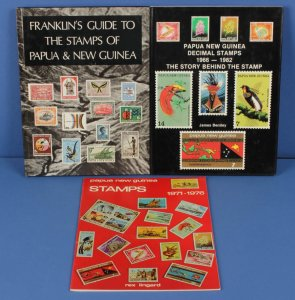 PAPUA NEW GUINEA : Franklin's Guide to the Stamps of Papua & New Guinea.