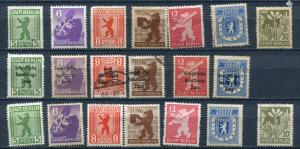 Germany 1945/47 Accumulation Used/Unused  Bear Some Overprint   g2187hs
