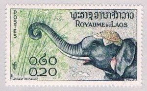 Laos 42 MNH Elephant 2 1958 (BP4723)