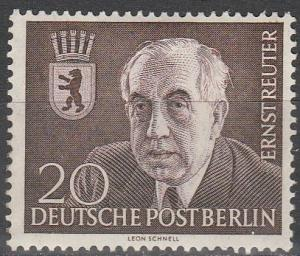 Germany #9N104 F-VF Unused  CV $7.00  (SU4687)