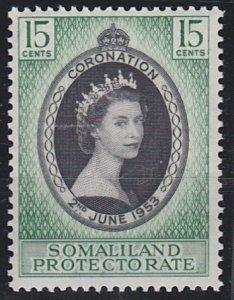 Somaliland 127 MNH (1953)
