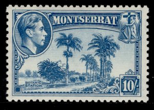 MONTSERRAT GVI SG111, 10s pale blue, M MINT. Cat £23.